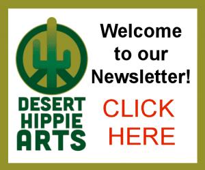 Desert Hippie Arts Newsletter Short