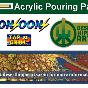 Acrylic Paint Pouring Party