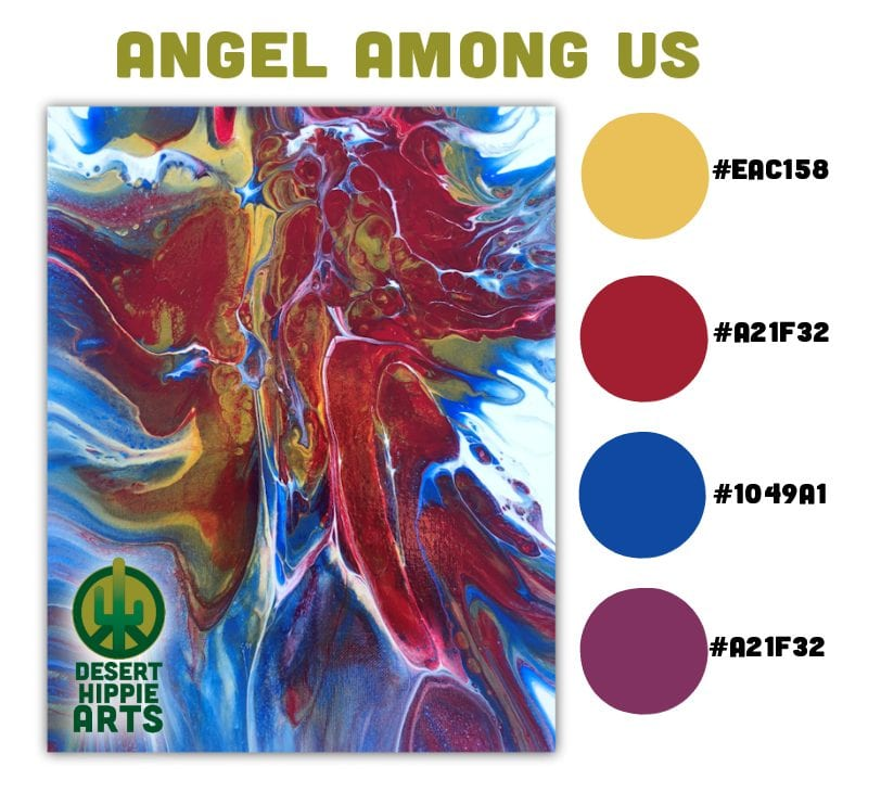 My Favorite 5 Color Combinations Angel Among Us